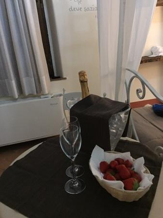 Romantico ristorante interno della Beauty farm