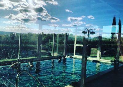 Centro benessere con piscina coperta