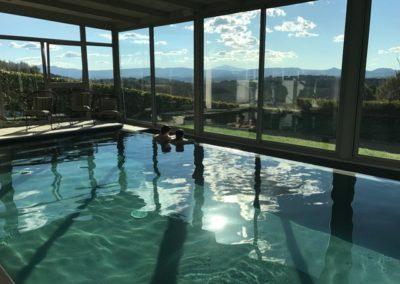 Centro benessere e piscina coperta sul Trasimeno