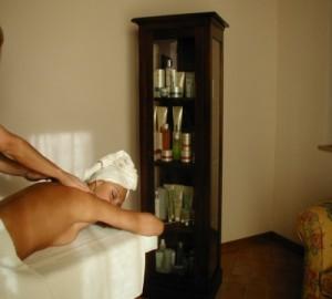 Il Centro Benessere al lago Trasimeno con stanza dedicata ai massaggi